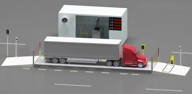 铝水地磅自动计量系统