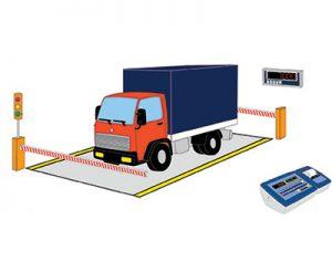 电子汽车衡的结构和工作原理及使用方法